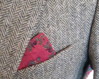Vintage Irish tweed Magee jacket