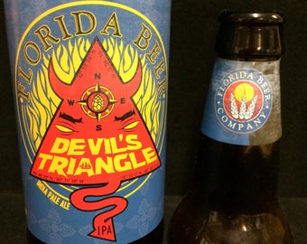 Devils Triangle India Pale Ale by Florida Beer Co scented candle - made to order