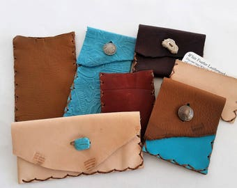 Custom Pouches,  Pouch Projects, Custom Leather work, Company Gifts, Corporate Projects, Rustic Wedding Party Gifts, Rustic Leather Pouches