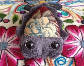 Grey Cuttlefish Plush