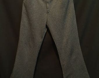 Vintage 1960's/1970's Men's Mod Polyester Flared Trousers