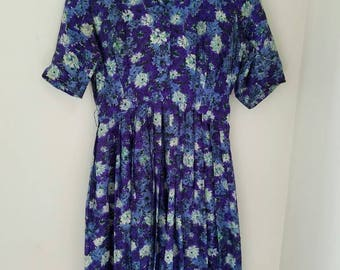 Violet and Bloom Silk 50's Dress