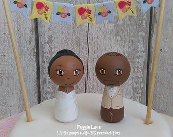 Mixed Race Wedding Cake Toppers Uk