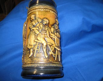 GERZ W GERMANY with lid stein