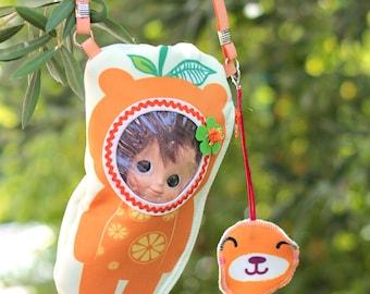 Mini Muichan Frutoso Bag, carrier for Mui Chan