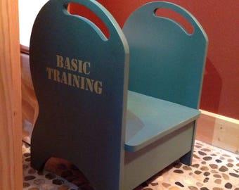 Deluxe potty training step stool (green)BASIC TRAINING
