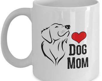 Dog Mom Mother's Day Gift Animal Lover Rescue Love Coffee Cup Mug
