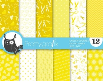 80% OFF SALE cancer ribbon digital paper, commercial use, scrapbook papers, background - PS659