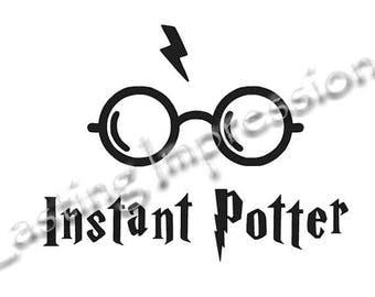 Instant Potter / Harry Potter / Instant Pot or Crock Pot Vinyl