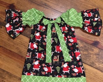 Santa peasant dress