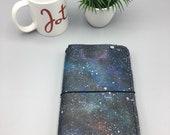 Handpainted Galaxy - Classic/Standard - Traveler's Notebook | TN | Fauxdori