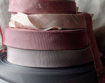 20 yard roll of blush pink dupioni silk