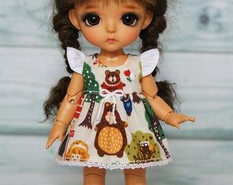 Lati yellow/pukifee dress