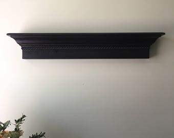 "36"" Floating Wall Shelf, Espresso Wall Shelf, Wall Ledge,  Floating Wall Shelf"