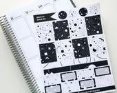 Abstract Quick Kit - Planner Stickers - Erin Condren - Happy Planner