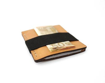 Wallet, Leather Wallet, Personalized Leather Wallet, Gifts For Men, Mens Leather Wallet, Leather Card Wallet, Front Pocket, Minimalist, Slim
