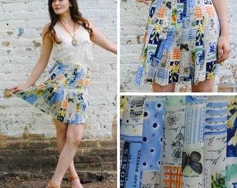 Pleated Adventure Mini Skirt