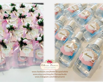 Baby Shower hand Sanitizer Favors , Baby shower favors, Party favors, Hand Sanitizer favors