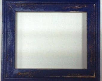 "1-3/4"" Purple Distressed Picture Frame"