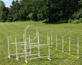 Dog Agility Equipment 5 Obstacle Beginner Set