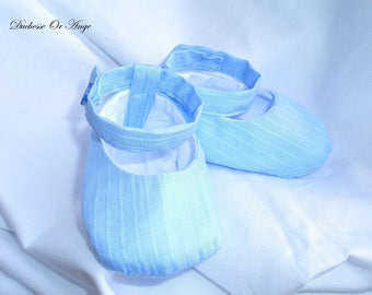 Baby shoes in blue - 1/3 months