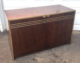 Mid-Century Modern Three Drawer Dresser by Founders