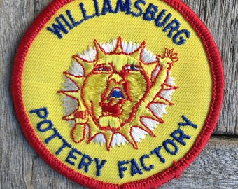 Williamsburg Pottery Factory Patch