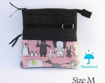 Animal,  Zipper vet nurse bag, Clear pocket for smartphone, Nurse tool bag, Nurse tool belt bag, Vet tech waist bag, vet nurse gift