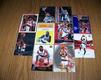 50 Portland Trailblazers Basketball Cards