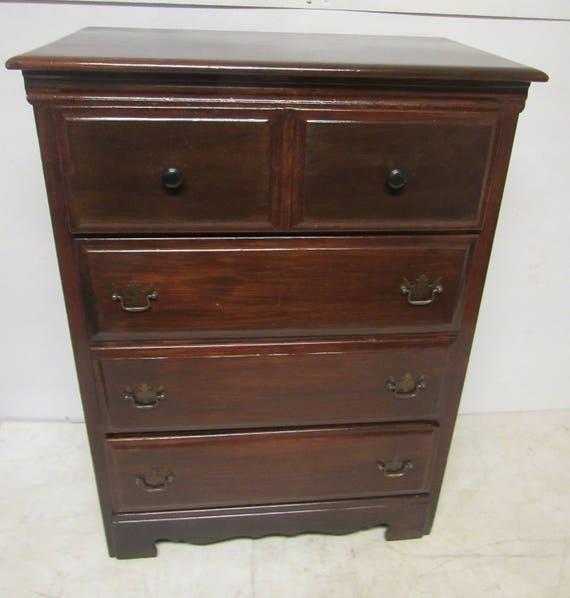 Vintage walnut dresser