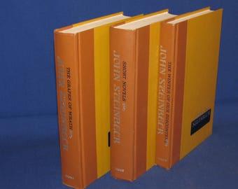 JOHN STEINBECK BOOKS Set of 3 American Classic Literature