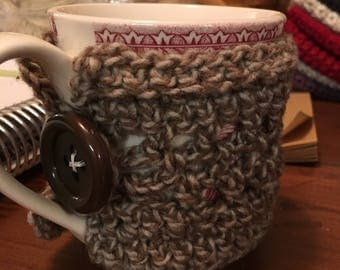 Mug Cozies  Crocheted Mug Hugs