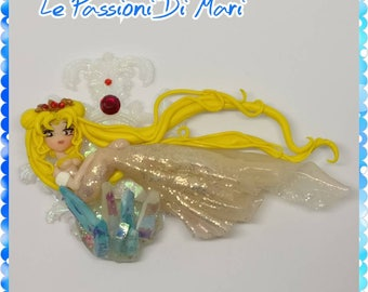 Queen Serenity Handmade Polymer Clay