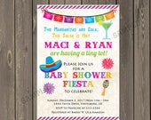 Mexican Fiesta Baby Shower Invu2026