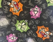 Jack and Sally This Is Halloween ~Custom Made~ Crib/Toddler Bedding Items