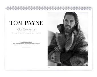 Tom Payne Vol.1 - 2018 Calendar