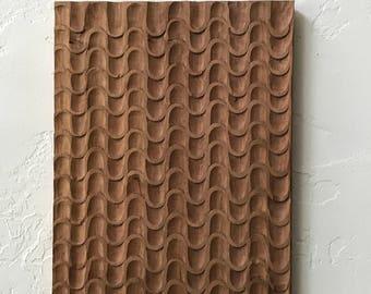 Modernist Architectural Design Wood Work Sculpture