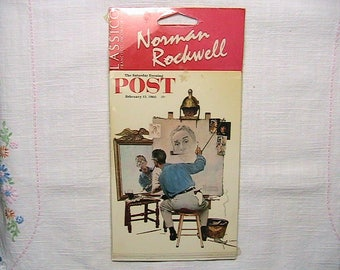 Norman Rockwell Post Cards, Vintage Norman Rockwell, NOS