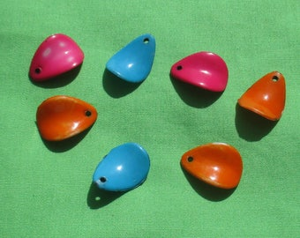 Lot Of Salvaged Colorful Plastic Dangles TLC