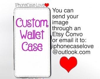 Custom iPhone se Case - Custom iPhone se Wallet Case - Custom iphone se - Custom iPhone se Wallet