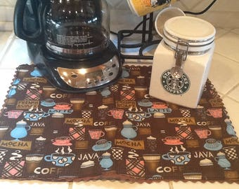 Coffee Station Spill Pad