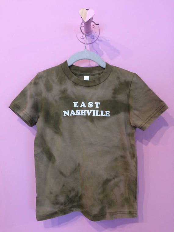 East Nashville kids tee