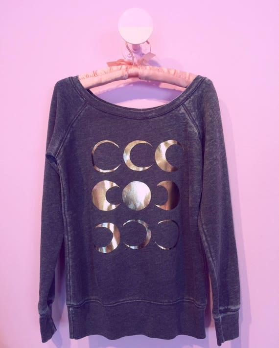 Gold Dust moon cycle dream sweatshirt