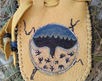 Shapeshifter Shield Medicine Bag