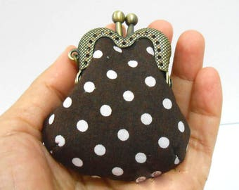 golden  MINI 4cm , 5cm  mini-coin cute  purse frame clasp clip  KS-303