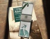 James Joyce Letterpressed Bookmark