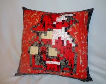 Red Mage - Final Fantasy - Sprite Art Pillow 17x17 inch