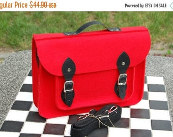 "SALE MacBook Pro 13 inch laptop bag, macbook 13"" sleeve, case, felt briefcase, cover with adjustable shoulder strap"
