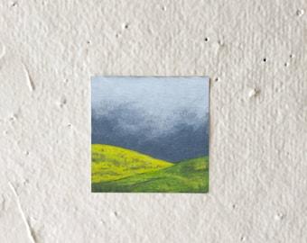 CloudyHills - Tiny Art Print!