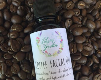 Coffee Facial Oil
